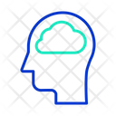 Imind Cloud Mind Cloud Brain Icon