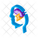 Cloud Mind Brain Icon