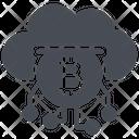 Cloud Mining Icon