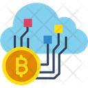 Cloud Mining Mining Bitcoin Mining Icon