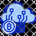 Cloud Mining Mining Bitcoin Mining Icon