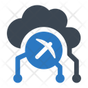 Cloud Mining Cryptocurrency Mining Icon