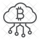 Cloud Mining Finance Icon