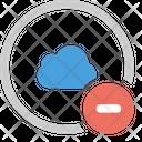Cloud Minus Icon