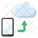 Cloud Mobile Cloud Computing Cloud Technology Icon