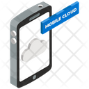 Cloud Mobile Mobile App Mobile Computing Icon