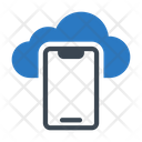 Mobile Phone Cloud Icon