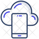 Cloud Mobile Icon