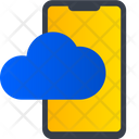 Cloud Mobile Cloud Device Cloud Smartphone Icon