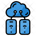 Cloud Mobile Connection Icon