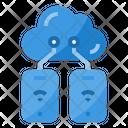 Smartphone Transfer Data Icon