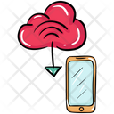 Cloud Mobile Download Cloud Data Cloud Computing Icon