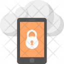 Secured Mobile Data Icon
