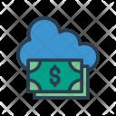 Cloud Server Dollar Icon