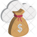 Cloud Money Cloud Dollar Dollar Sack Icon