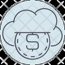 Business Cloud Money Icon