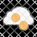 Cloud Storage Money Icon