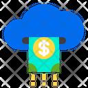 Cloud Money Cash Icon