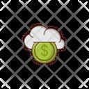 Cloud Money Icon