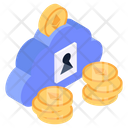 Cloud Money Cryptocurrencies Cloud Digital Money Icon