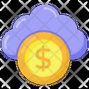 Cloud Business Cloud Money Cloud Finance Icon