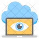 Cloud Monitoring Performance Icon