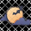 Cloud Moon Icon