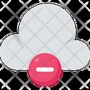 Cloud Computing Cloud Negative Icon