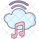 Cloud Music Icon