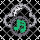 Cloud Music Media Icon