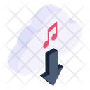 Cloud Music Download Music Download Cloud Media Icon