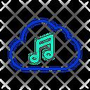 Icloud Cloud Music Server Cloud Music Storage Icon