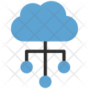 Cloud Download Network Icon