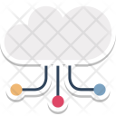 Cloud Network Links Icon
