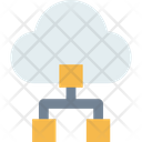 Platform Cloud Network Cloud Connection Icon