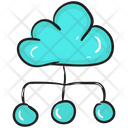 Cloud Network Cloud Computing Cloud Technology Icon