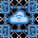 Cloud Smartphone Wifi Icon