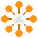 Cloud Communication Connection Icon