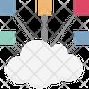 Cloud Network Hierarchy Cloud Computing Icon