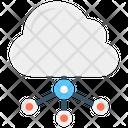 Cloud Network Cloud Computing Cloud Sharing Icon