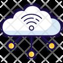 Cloud Computing Cloud Technology Cloud Hosting Icon