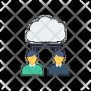 Cloud Network Computing Icon