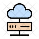 Cloud Server Database Icon