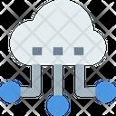 M Cloud Network Cloud Network Cloud Connetion Icon