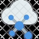 M Cloud Network Cloud Network Cloud Icon
