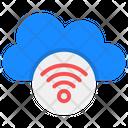 Cloud Network Wireless Network Cloud Wifi Icon