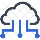 Cloud Server Store Icon