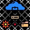 Brain Storage Data Icon