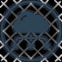 Cloud Sharing Computing Icon
