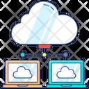 Cloud Network Cloud Devices Cloud Technology Icon
